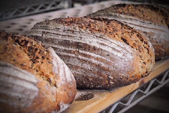 Alpine Bakery: Our signature loaves of Brick-Oven Multigrain