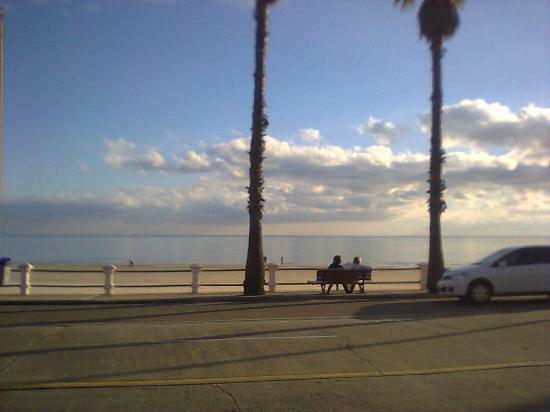 Hosteria Miramar : Frente al mar...