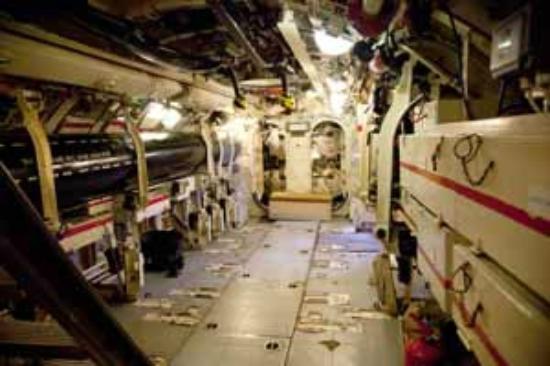 Royal Navy Submarine Museum: Interior