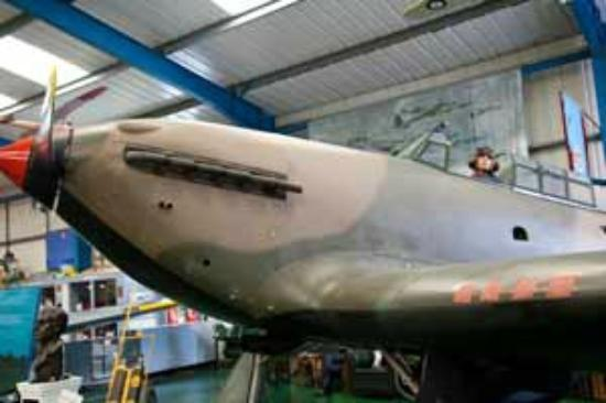 Tangmere Military Aviation Museum: display
