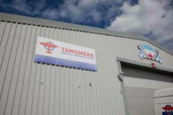 Tangmere Military Aviation Museum: sign