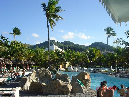 ClubHotel Riu Bachata: the view from the pool