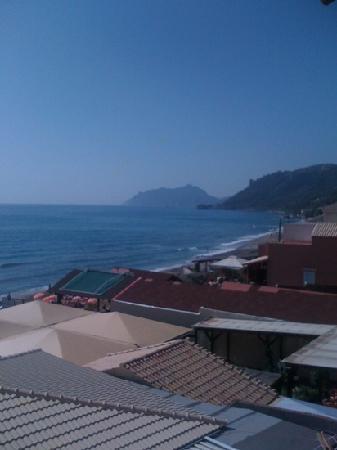 Sea Breeze Family Beach Hotel: view from balcony