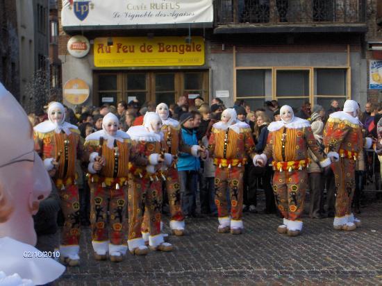 Binche, Belgia: Les gilles le Mardi-Gras