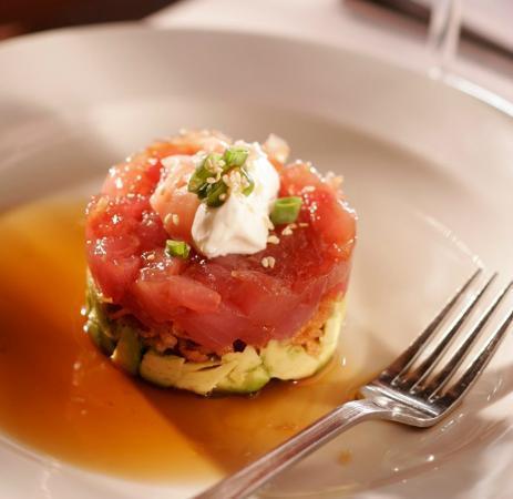 Mitchell's Ocean Club: Ahi Tuna Tartar, Avocado, Ginger Ponzu