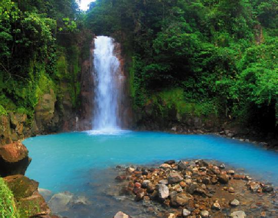 Rio Celeste Amp Waterfall Costa Rica By Bill Beard Photo De Parc National Du Volcan Arenal