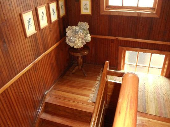 Hotel La Casona de Pucon: Escadas
