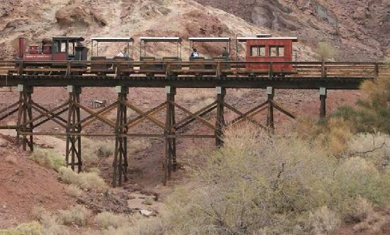 Yermo, CA: Train Rides at Calico Ghost Town