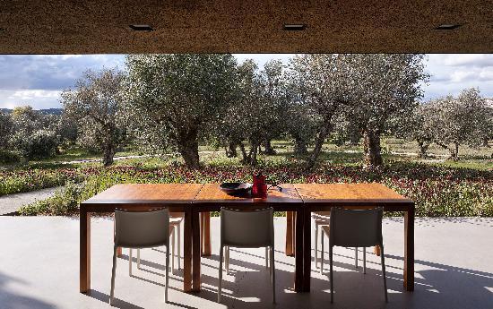 Villa Extramuros: Vue de la salle à manger
