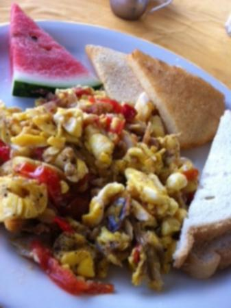 Yard Beach House: Breakfast Ackee and Saltfish