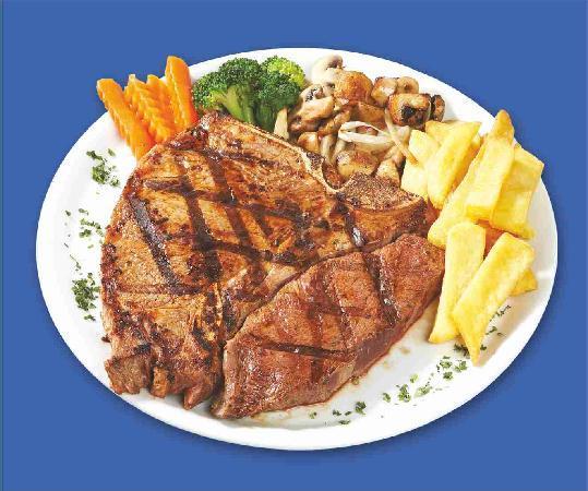 Samdan Restaurant : T-BONE STEAK 23 OZ.