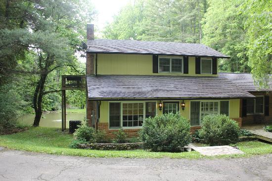 The Yellow House on Plott Creek Road: Pond House