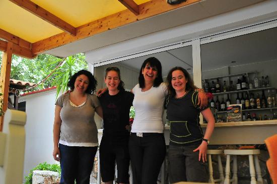 Lefka Apartments: With Evita and Anna