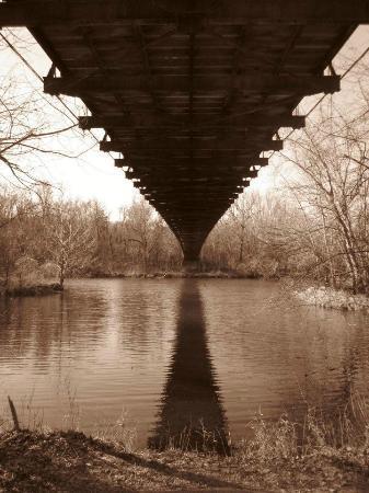 Swinging Bridge: Under The Swing Bridge