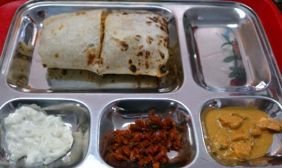 Indian Hurry Curry: Your choice of Daily Creation in a Wrap!!!