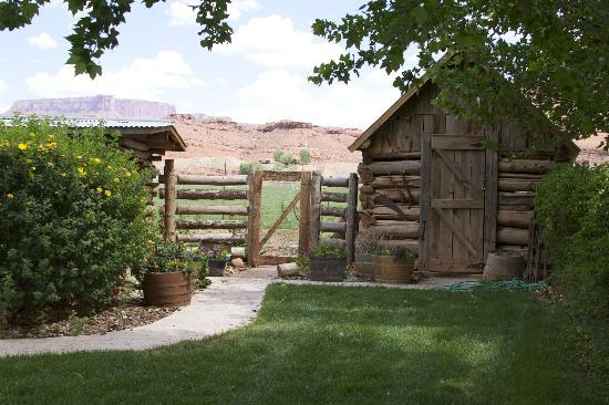 Sorrel River Ranch Resort and Spa: even the storage areas on the property are lovely