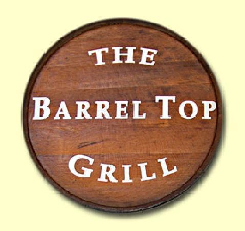 The Barrel Top Grill: Barrel Top Grill entrance sign