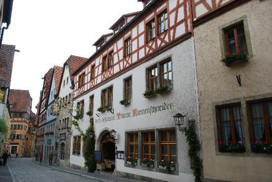 Tilman Riemenschneider Hotel : front of hotel