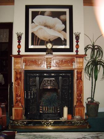 Gallows View: Fireplace