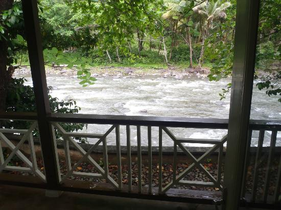 Rosalie Bay Resort: River Suite View