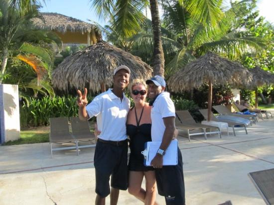 Dreams Punta Cana Resort & Spa: Entertainment Team guys!!