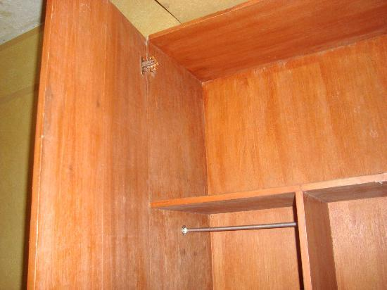 A broken cabinet. - Picture of Hotel Henrico - Legarda, Baguio ...