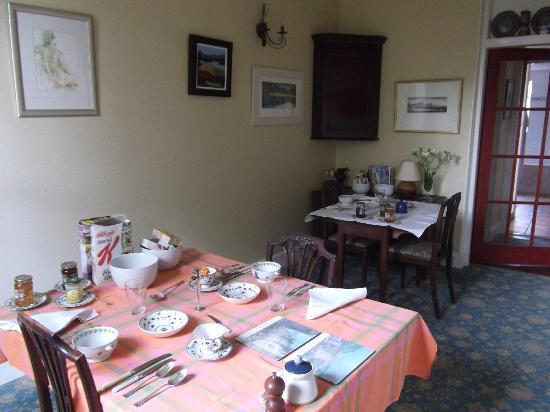Tantallon Place Bed and Breakfast: breakfast room