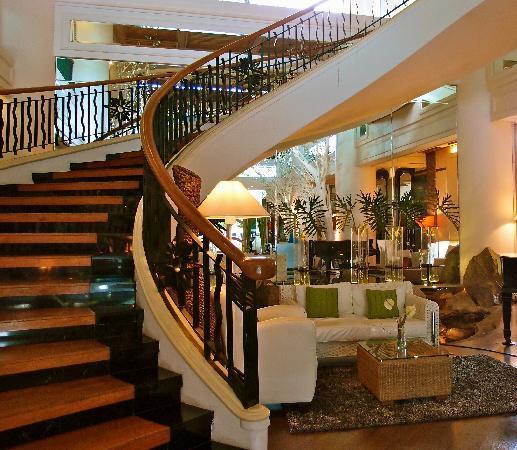 فيفر هوتل: hotel lobby