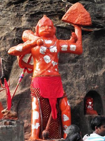 Mahadeo Temple: Lord Handuman at Gupt Mahadeo