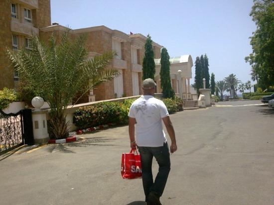 Albilad Hotel: carpark
