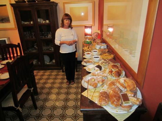 Bed and Breakfast Palermo Art: The breakfast buffet