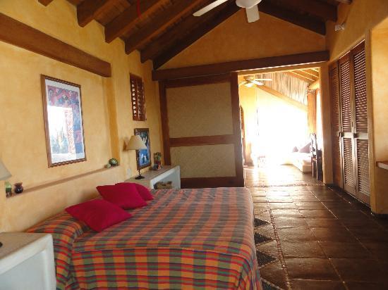 Casa Las Piedras: la suite de arriba es fabulosa, su vista la brisa y el sonido a mar!!!