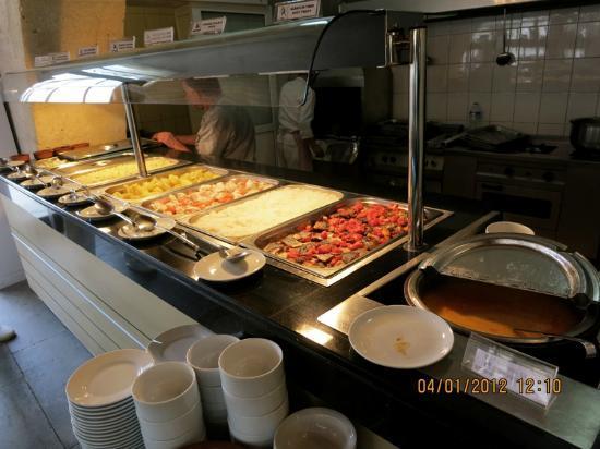 Goreme Kaya Hotel: buffet