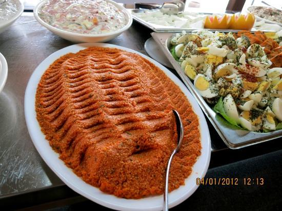 Goreme Kaya Hotel : appetizing buffet