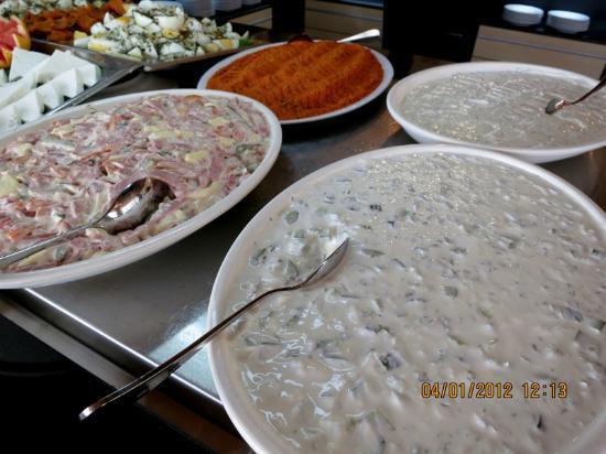 Goreme Kaya Hotel : appitizers