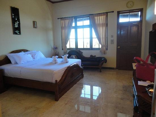 My room at Green Garden Beach Resort & Spa - Picture of Green ...