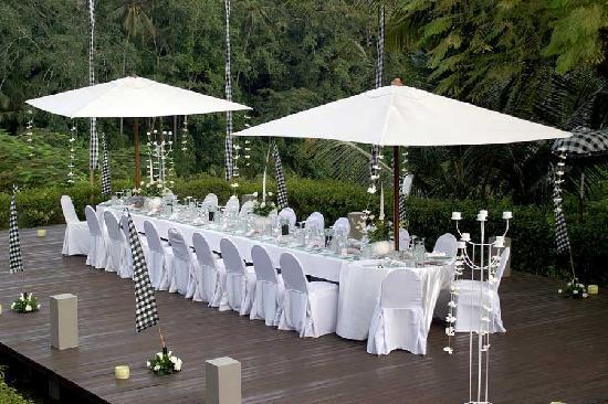 Peliatan, Ινδονησία: private dinner
