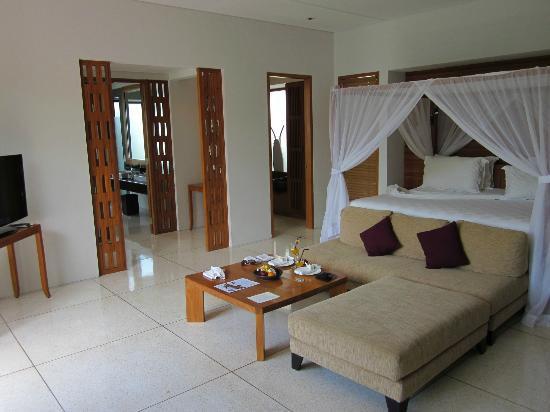 ذي سمايا بالي: The wonderfully spacious bedroom