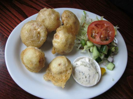 Waterhouse Inn - Cafe and Lounge Bar: Fried Mushrooms