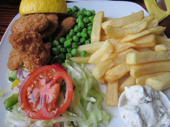 Waterhouse Inn - Cafe and Lounge Bar: Fried Shrimp and Chips
