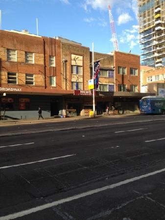 Posh Hotel: street front