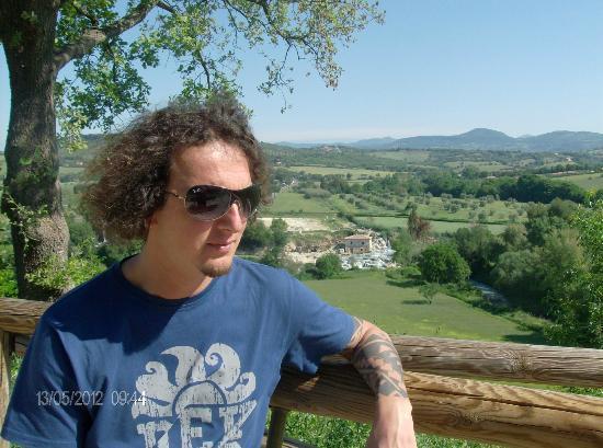 Saturnia, Italia: vista cascate del gorello