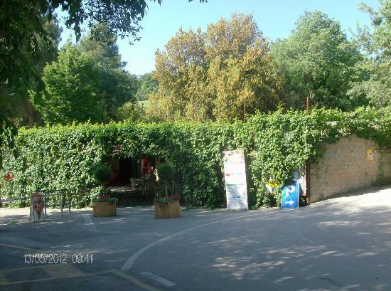 Saturnia, Italien: barettino preima delle cascate