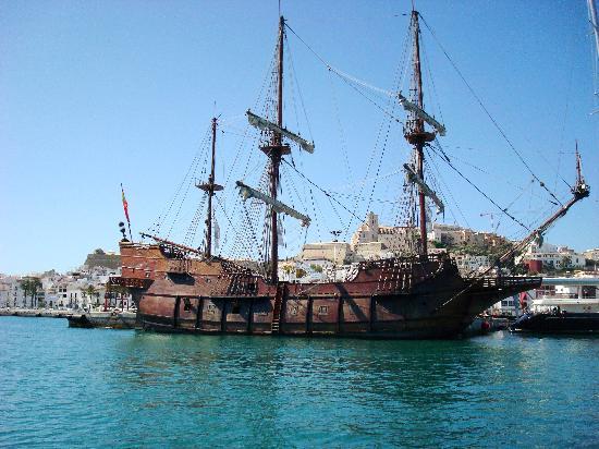 Ibiza Stadt und Burg: Ibiza Stadt