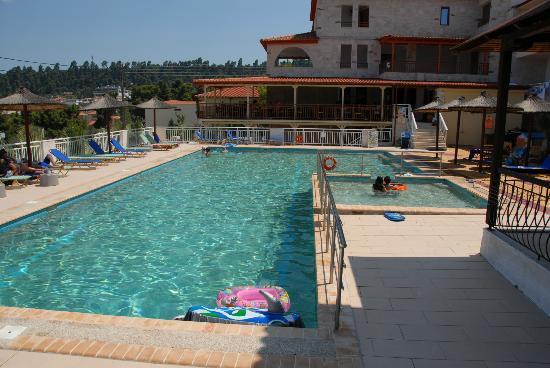 Hotel Medusa pool view