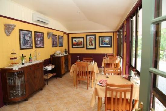 Chilverton Cottage & Restaurant: Restaurant on site