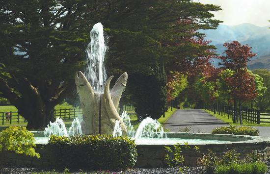 The Dunloe : Fountain & Driveway