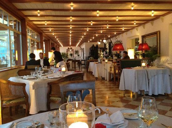 Castel Fragsburg: Blick in das Restaurant