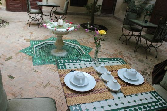 Riad Sidi Ayoub : desayuno
