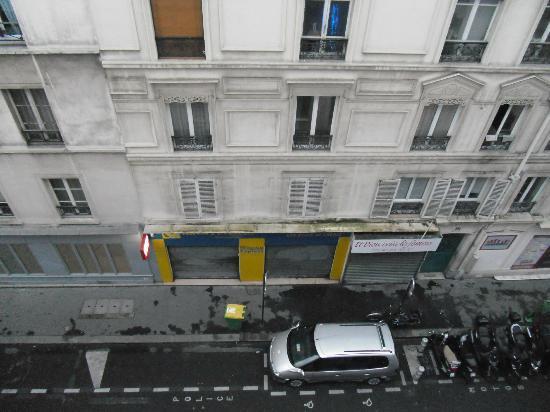 Hotel Liberty : Foto desde la ventana de la habitacion 4 piso